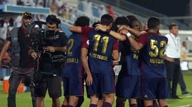 الوحدة يتجاوز الوصل برباعية ويتصدر الدوري الإماراتي