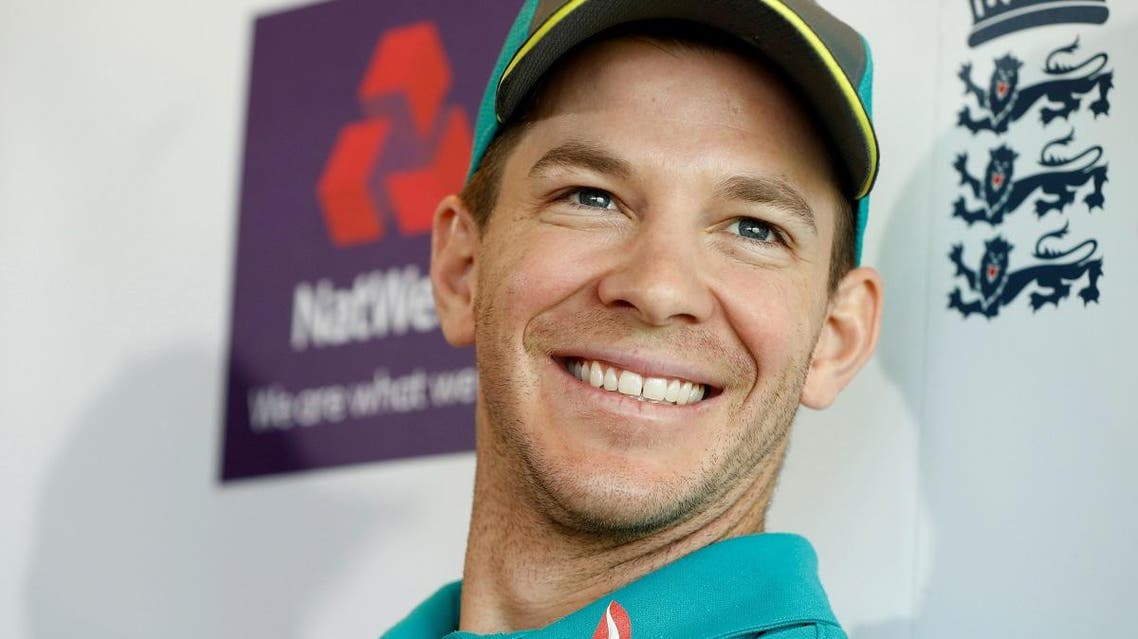 Australia's cricket captain Tim Paine during a press conference  at Lord's Cricket Ground, London, Britain on June 6, 2018. ( Reuters)