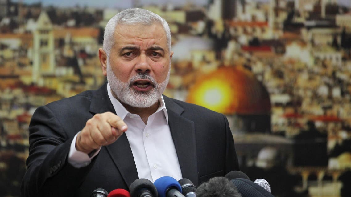 Hamas Chief Ismail Haniyeh. (File photo: AFP)