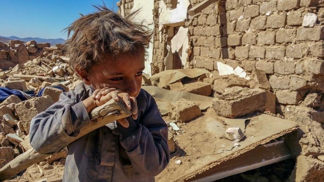 الطفل اليمني فراس