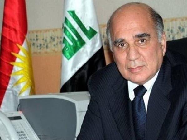 """""""الديمقراطي الكردستاني"""" يرشح فؤاد حسين لرئاسة العراق"""