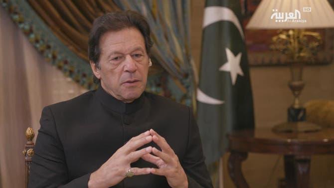لقاء رئيس وزراء باكستان مع تركي الدخيل