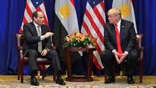 ترمب للسيسي: ندعم الجهود المصرية لمكافحة الإرهاب
