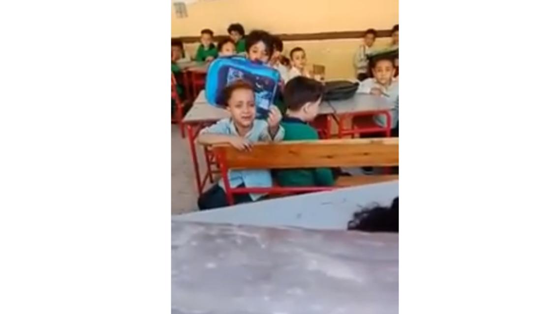 طفل مصري