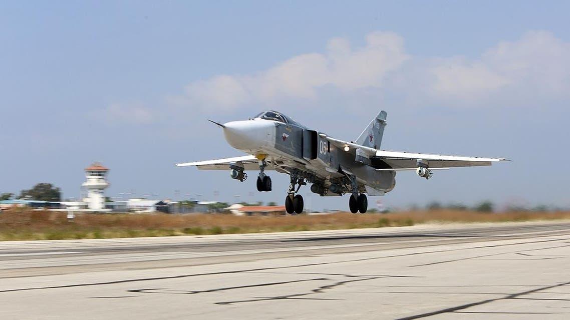 Syria Hmeimim air base Russia (AFP)