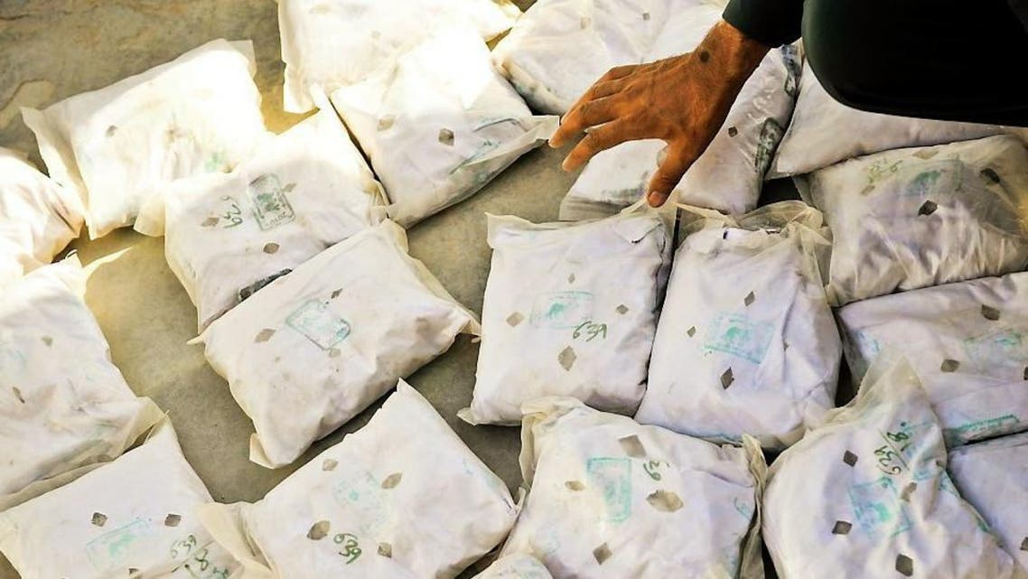 از قاچاق 500 گرام مواد مخدر از افغانستان به ایران جلوگیری شد