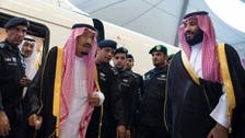 الملك سلمان يصل المدينة مستقلاً قطار الحرمين