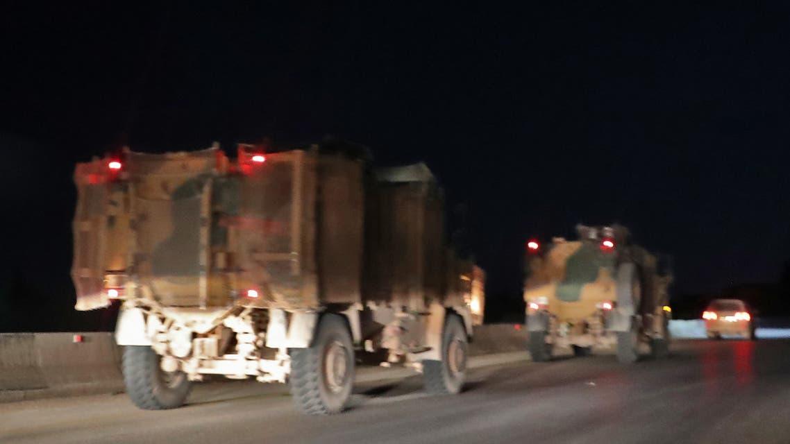 AFP Idlib Turkish troops قوات تركية إلى إدلب