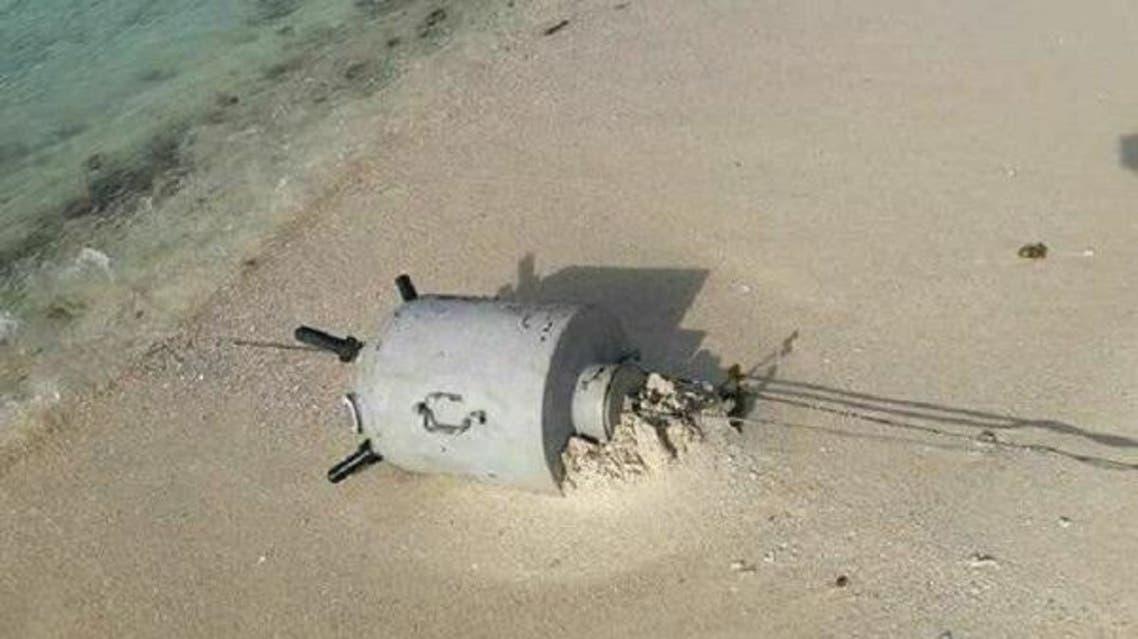 ألغام بحرية حوثية - ميدي