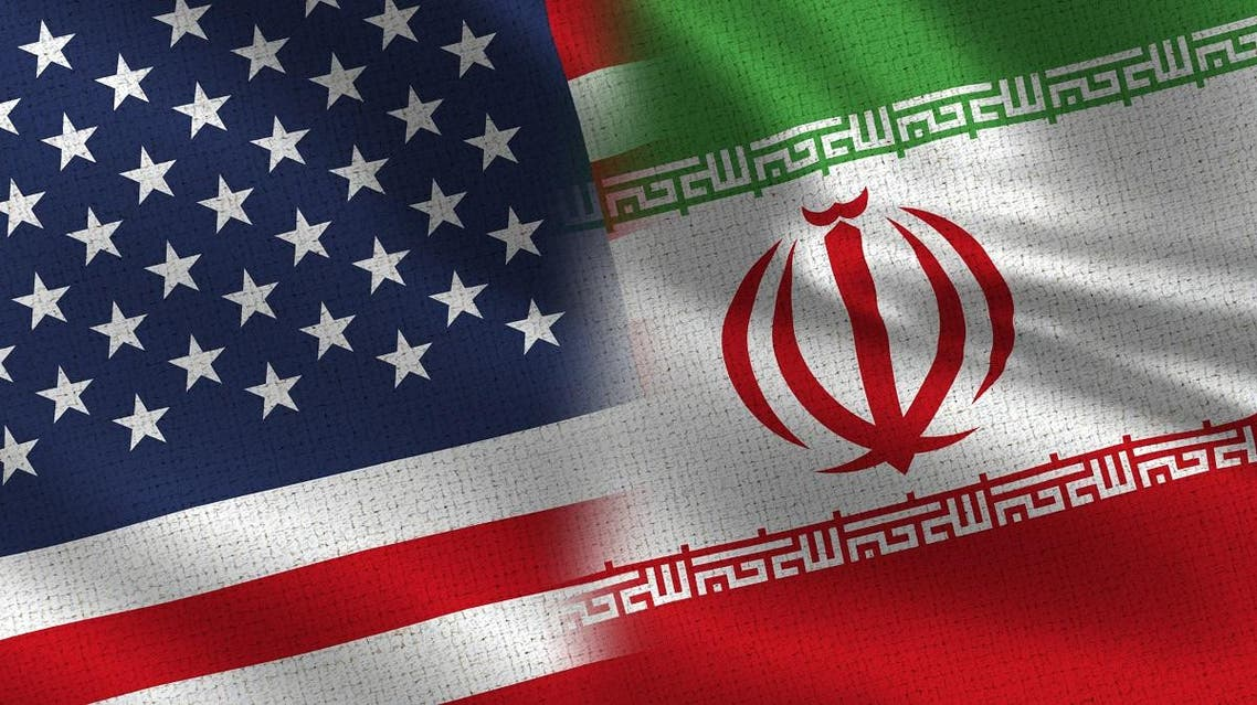 us iran flags (Shutterstock)