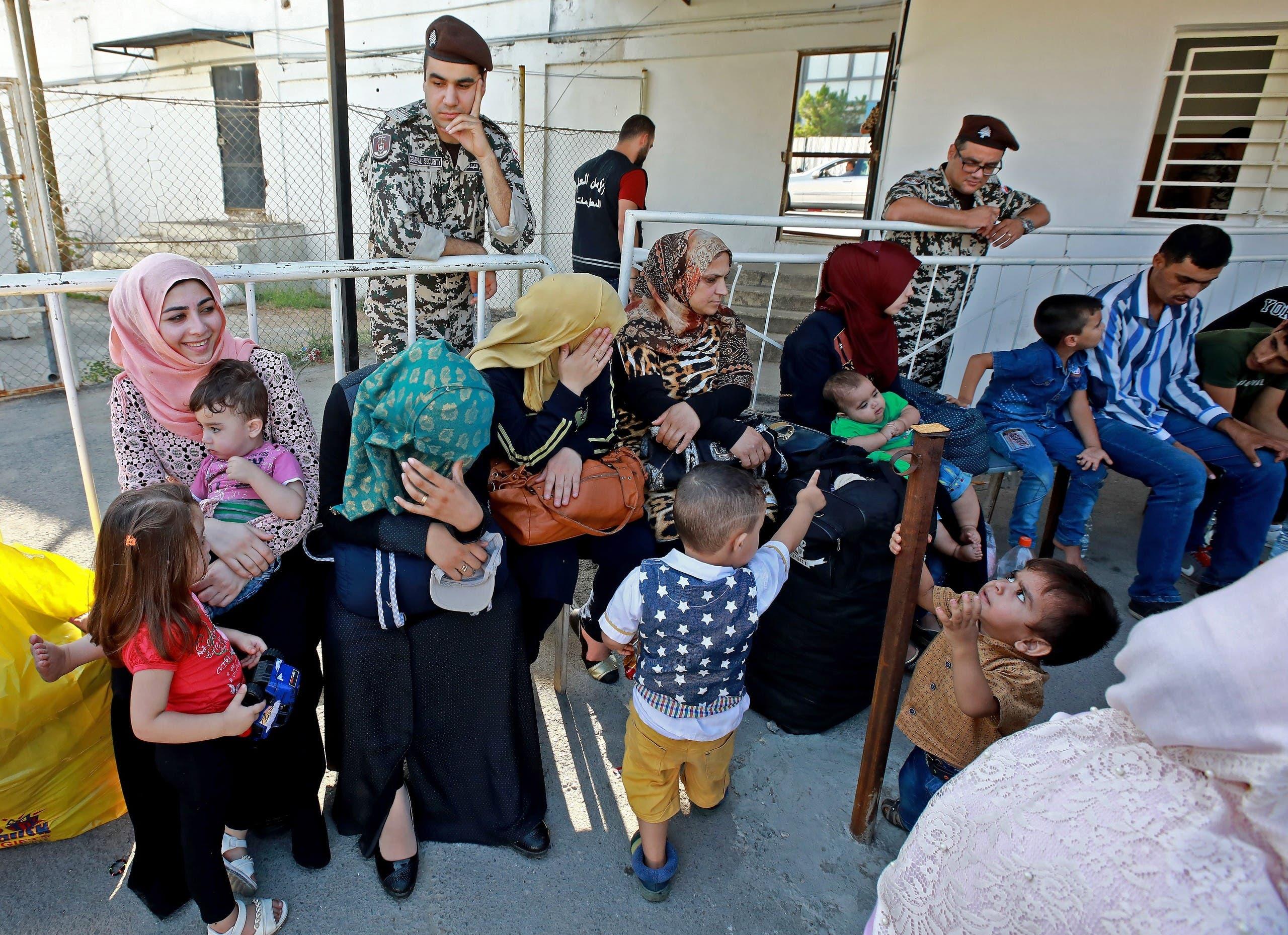 لاجئون سوريون في لبنان(أرشيفية)