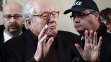 French far-right symbol Jean-Marie Le Pen in hospital