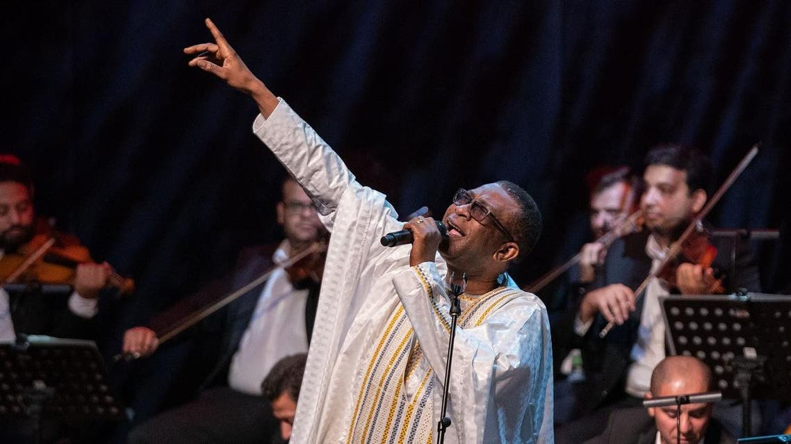 Performances by singer and composer Youssou NDOUR