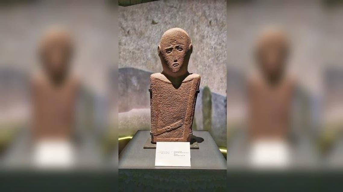 the suffering man saudi sculptur