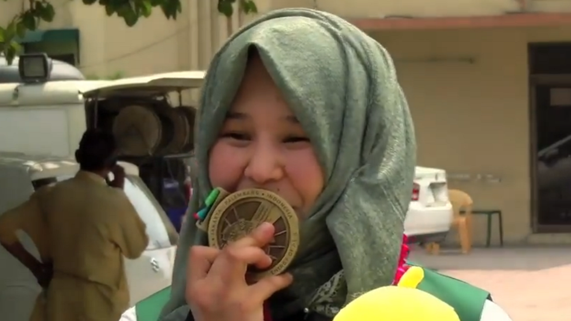 Nargis has been Pakistan's national Karate champion for last five years.