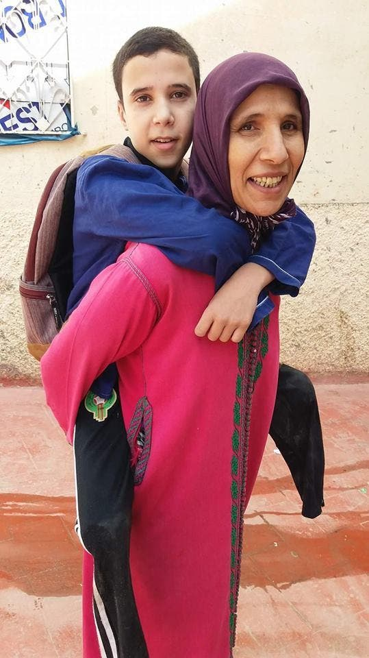 Moroccan devoted mother (Supplied)
