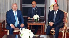 Egypt's Sisi urges peace talks restart at meeting with Israel's Netanyahu
