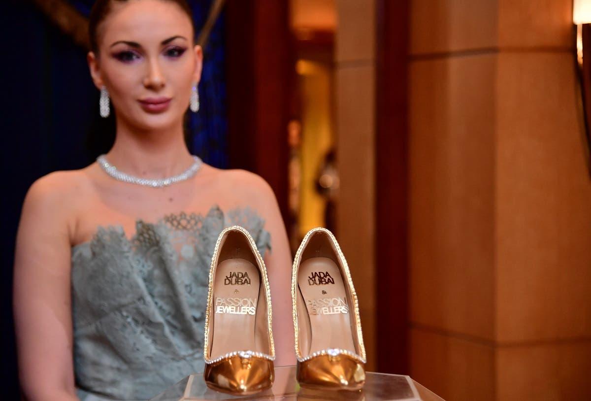 Jada Dubai diamond shoes (AFP)