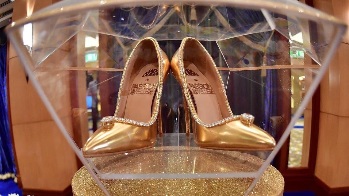 Jada Dubai diamond shoes 1 (AFP)