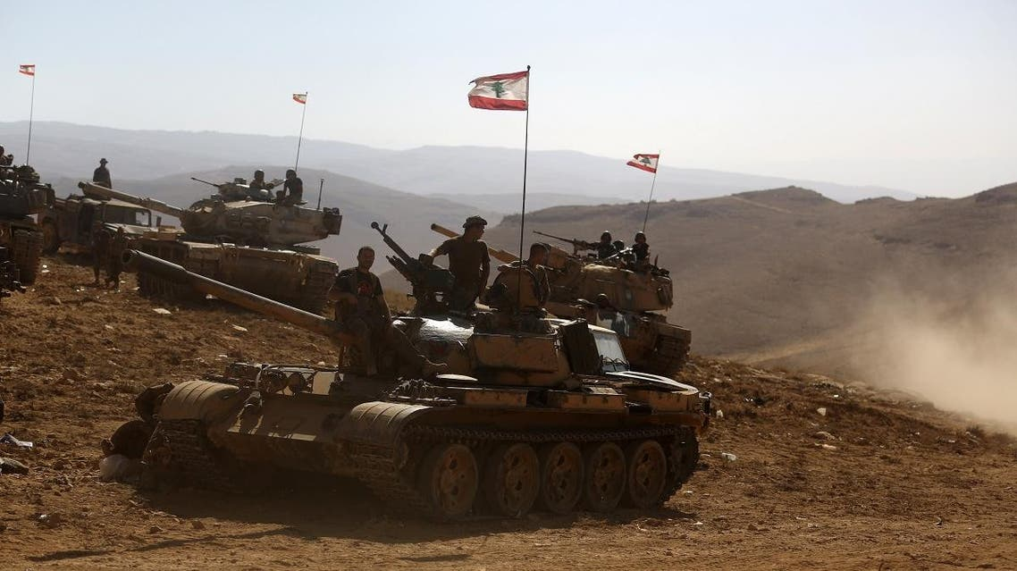 Lebanese army fighting ISIS (AFP)