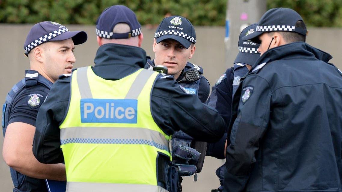 Australia police Melbourne (AFP)