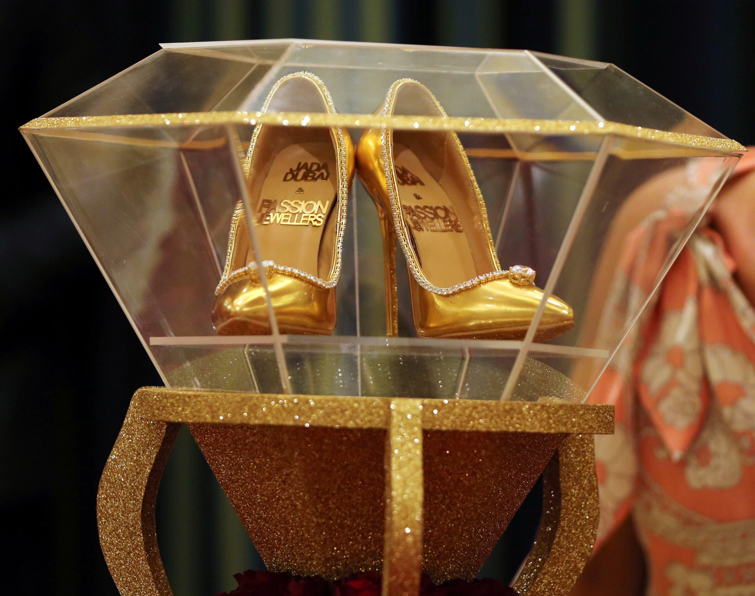 %name أغلى حذاء في العالم ،ثمنه  17 مليون دولار ، فمن يشتري؟