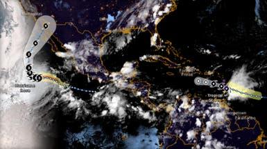 """""""روزا"""" تتحول إلى إعصار من الفئة الثالثة بالمحيط الهادي"""