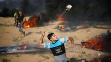 غزہ: سرحد اسرائیلی فوج کی فائرنگ سے درجنوں فلسطینی مظاہرین زخمی