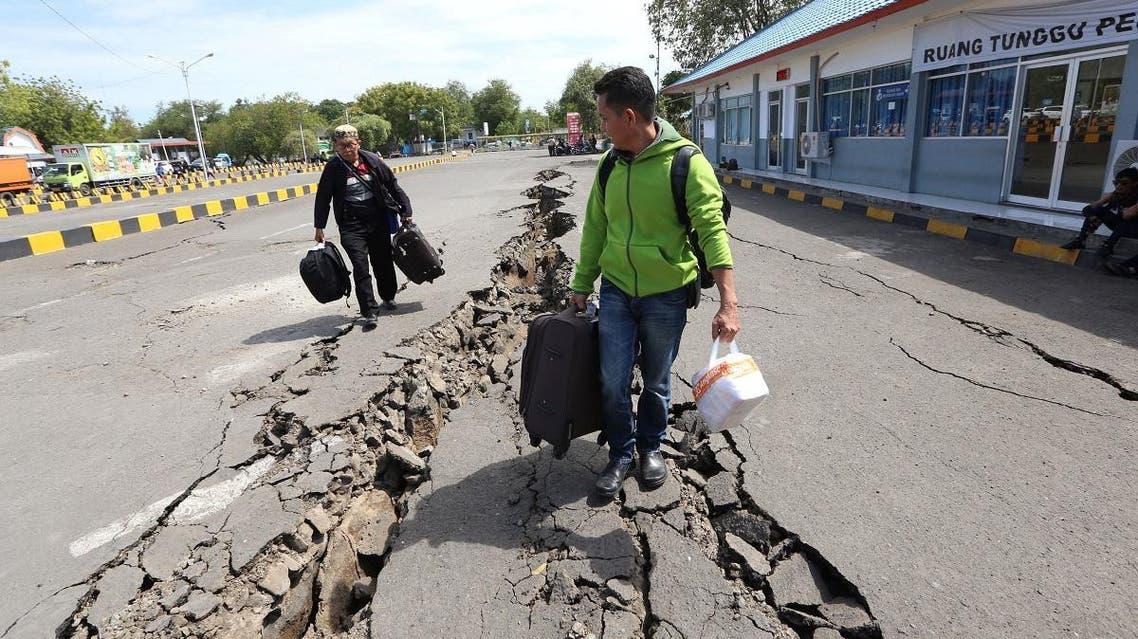 Indonesia erthquake (AFP)