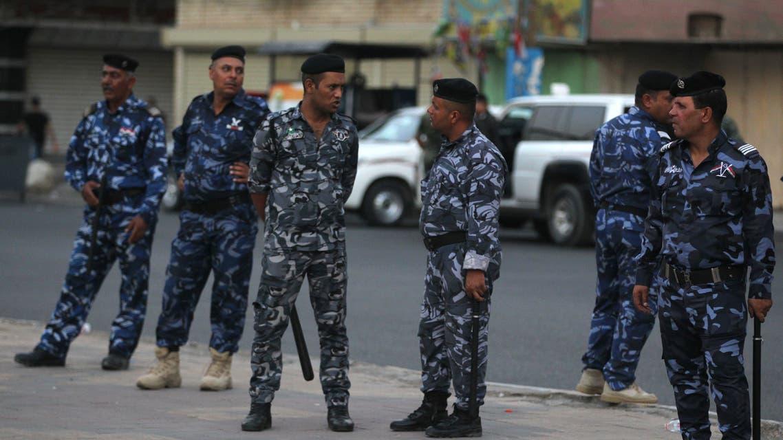 AFP Iraq police عناصر من الشرطة العراقية