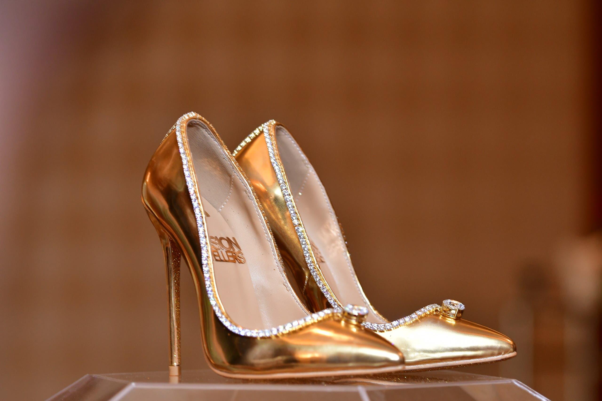 a105365a 454c 4a49 8a07 57f6363f7b6e أغلى حذاء في العالم ،ثمنه  17 مليون دولار ، فمن يشتري؟