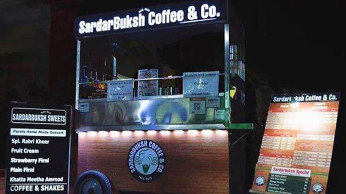 """Starbucks began legal proceedings against """"SardarBuksh"""", which has 25 shops in New Delhi, in July. (Twitter)"""