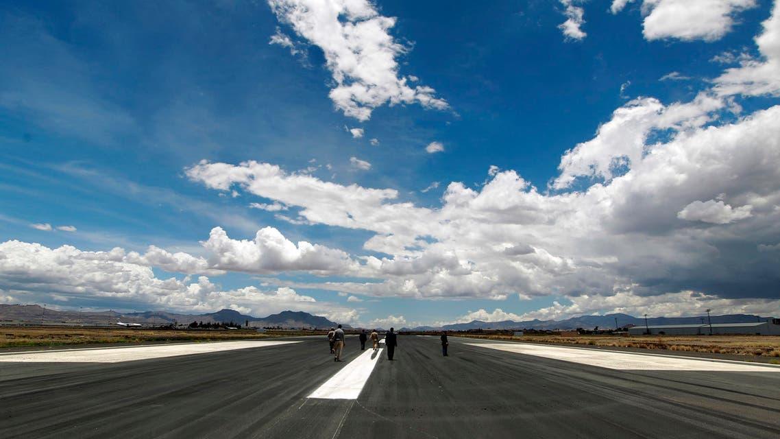 sanaa international airport (AFP)