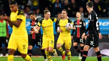 باكو ألكاسير يقود دورتموند إلى صدارة الدوري الألماني