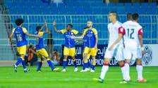 النصر يكتسح الجزيرة الإماراتي ويحجز مقعده في دور الـ16
