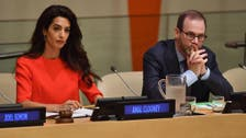 Amal Clooney defends case of journalists jailed in Myanmar
