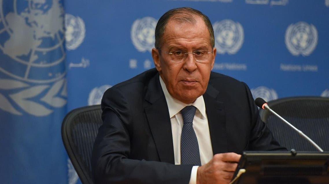 Lavrov UN (AFP)