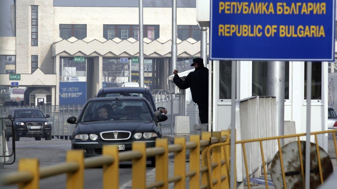 الجمارك البلغارية على معبر حدودي