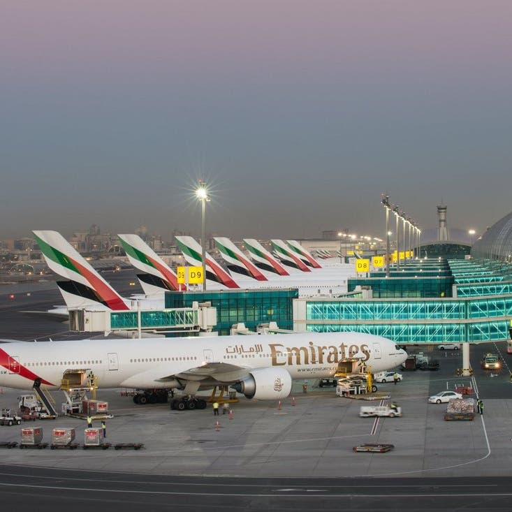 مطار دبي ينفي شائعات الحوثي.. حركة الطيران عادية