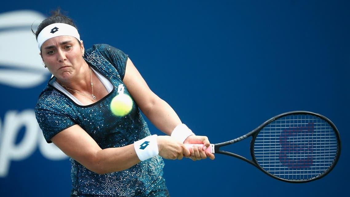 Ons Jabeur tennis. (AFP)