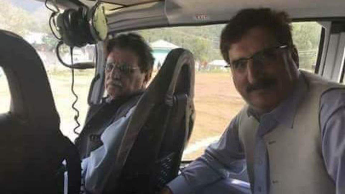 PM Azad Kashmir H Copter