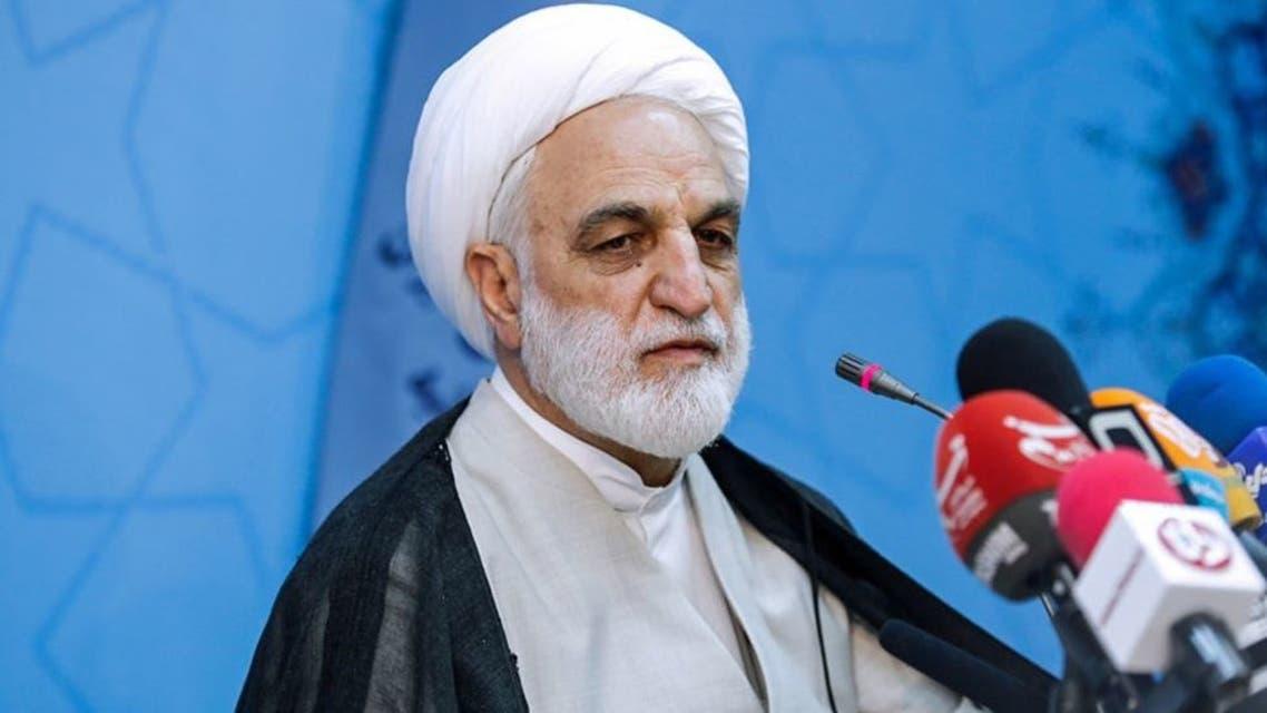 المتحدث باسم السلطة القضائية الايرانية غلام حسين محسني ايجئي