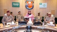 سعودی ولی عہد کی جنوبی سرحد پر فوجی کارروائیوں سے متعلق عرب اتحاد کی بریفنگ میں شرکت