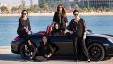 Saudi women compete in Bahrain Formula One circuit