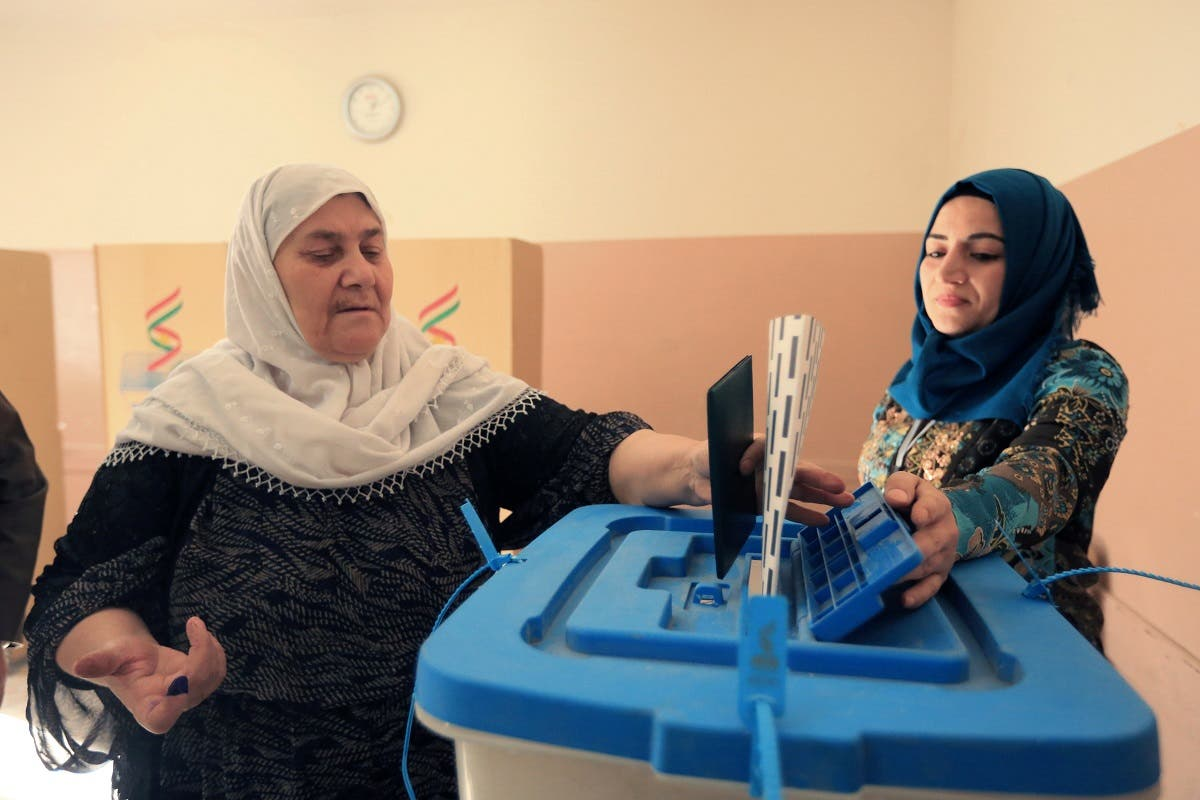 parliamentary elections in the semi-autonomous region, on the outskirts of Erbil, Iraq September 30, 2018. (Reuters)