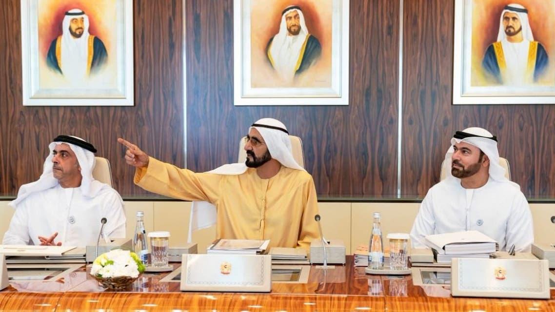 محمد بن راشد اجتماع مجلس الوزراء ميزانية الإمارات 2019