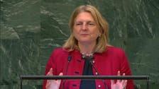 VIDEO: Austrian Foreign Minister begins her UN General Assembly speech in Arabic