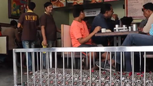 VIDEO: 'Lucky' Indian restaurant where you can 'dine with the dead'