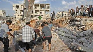 سوريا.. 18 ألف قتيل بغارات روسية خلال 3 سنوات