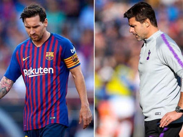 """بوكيتينو: """"إسبانيول"""" حرمني تدريب أفضل لاعب في العالم"""